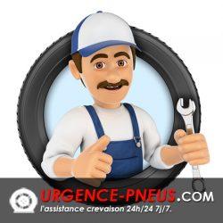 réparation de pneu crevé