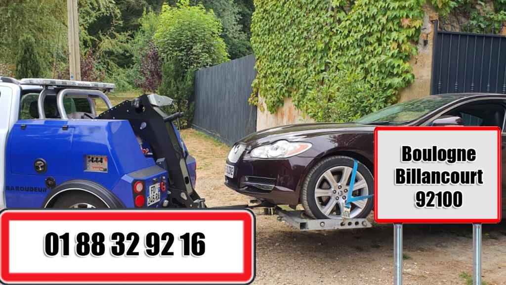 depannage auto boulogne billancourt 92100