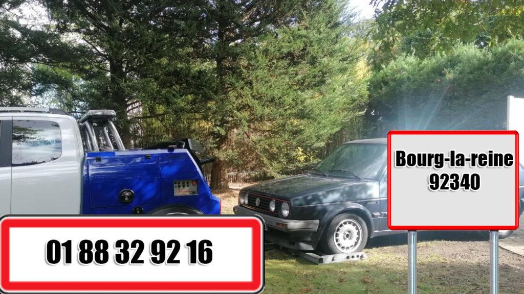 depannage auto remorquage voiture bourg-la-reine