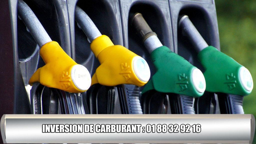 depannage suite à inversion carburant