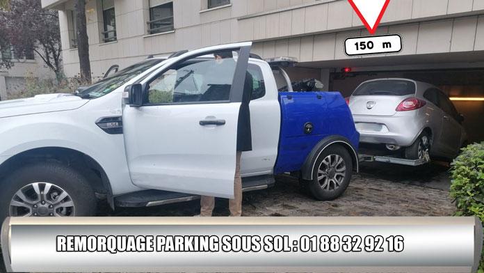 remorquage parking
